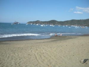 Costa Rica, view from Papagayo Bay. It's awfully nice.